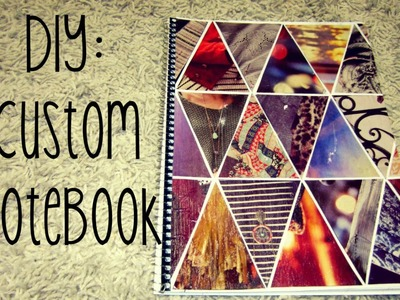 ꒫꒫Back to School: DIY Tumblr Notebook꒫꒫