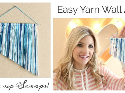 Easy Yarn Wall Art DIY