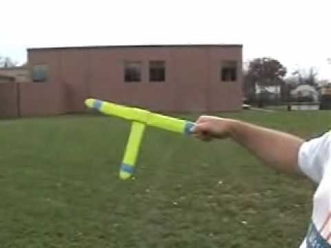 Fast and mean  , balsa wood T boomerang