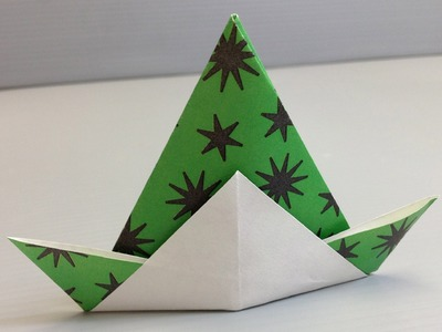Free Origami Paper - Print Your Own! - Black Stars Pattern