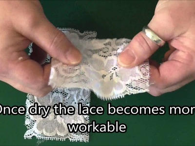 How to craft with Stretch Lace - Craft Tips #2