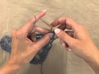 How to Crochet -- Solomon's Knot Highlights