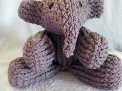 How to Loom Knit an Elephant