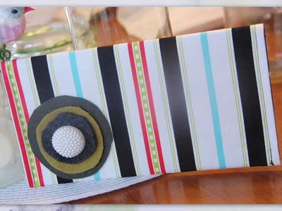 How to Make a Clutch Handbag - How to Sew a Clutch Handbag