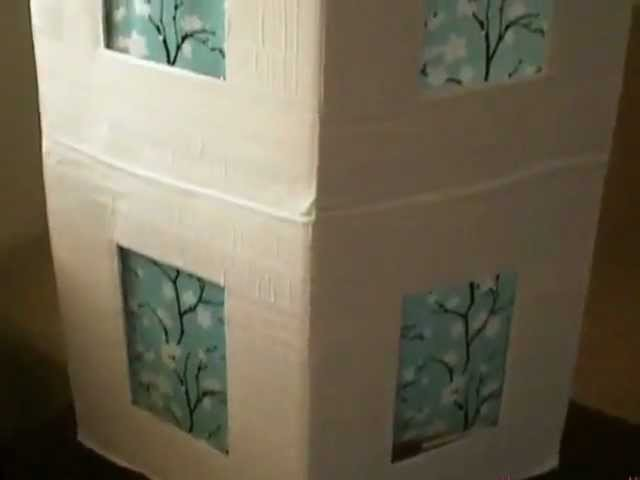 How To Make A Creative Duct Tape Lamp Shade Video Tutorial DIY