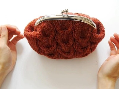 How to Make a Knitted Purse with Frame