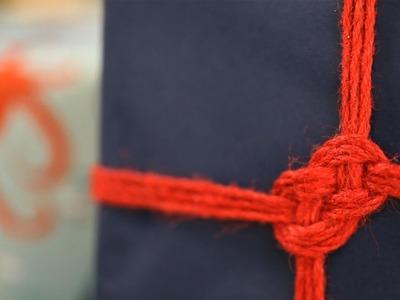 How to Make a Maritime Knot || KIN DIY