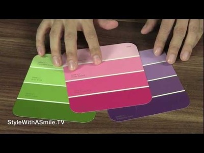 How to Make a Paint Chip Gift Box and Bow