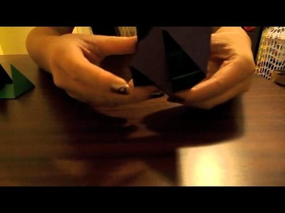 How to make an Origami Friendship Cube