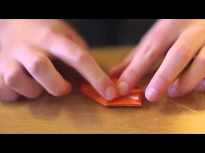 How to Make an Origami Pumpkin