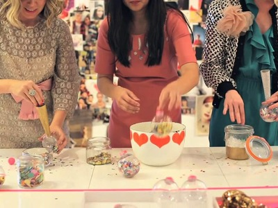 How to Make Confetti Necklaces and DIY Purses -- Make Someone Happy No.4