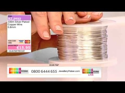 HOW TO MAKE JEWELLERY USING THE BEADING LOOM - JewelleryMaker LIVE 18.03.2014