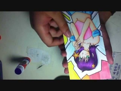 How to Make Your Own Manga Bookmark