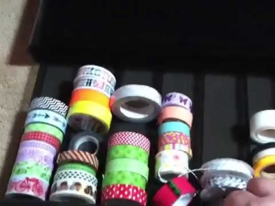 How to use a K-Cup Storage to store Washi Tape and otherr Craft items