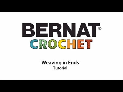 How To Weave In Ends in Crochet