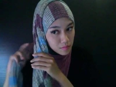 Ina's Scarf Styling Tutorial: Side Knot Scarf