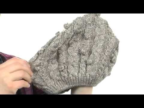 Laundry by Shelli Segal Platine Yarn Knitted Beret 7718554