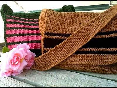 Left Hand Crochet Glama's His & Hers Messenger Bags