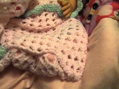 Made a preemie blanket for Ladiebuggiebabie