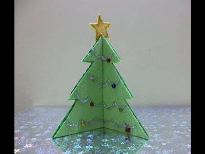 Make Your Own Christmas Tree- Christmas Craft Decorations 2012