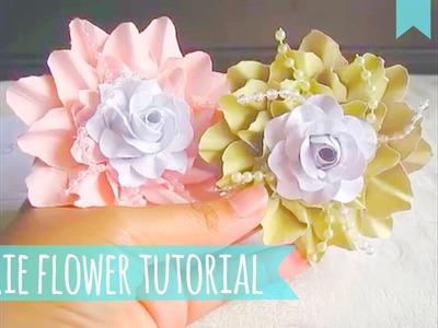 *Marie Paper Flower Tutorial*