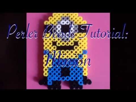 Minion Perler Beads Tutorial