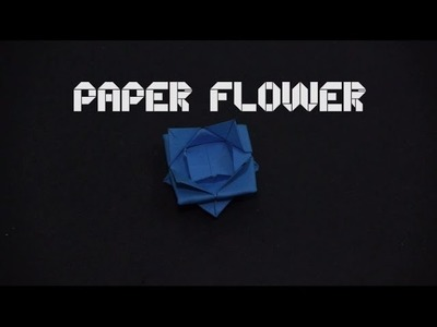 Origami Paper Flower  - Paper flower folding (By OrigamiArtists)