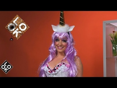 P.S.- I Made This on Look TV: DIY Unicorn Halloween Costume