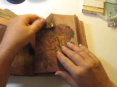 Scrapbook Mini Album - Harry Potter Theme