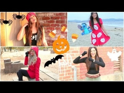 Super Fast & Affordable DIY Halloween Costumes!