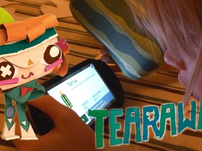 Tearaway Vita Family Test and Paper-Craft Explosion