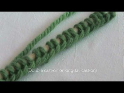 Urban Knitters' Beginner's Tutorial #1 - How to Cast On
