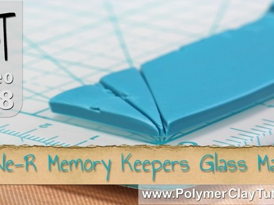 We-R Memory Keepers Glass Mat Review for Polymer Clay