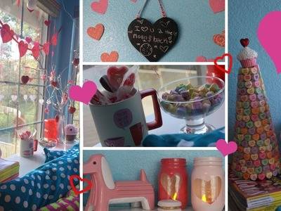 ♡5 DIY Valentine's Day Decorations!♡