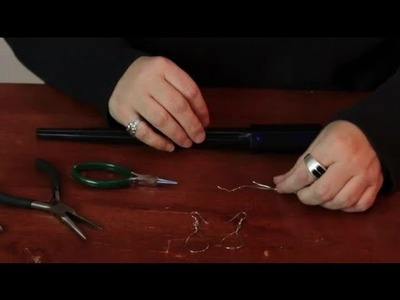 Bending Wire to Make Teardrop Wire Earrings : Assorted Crafts