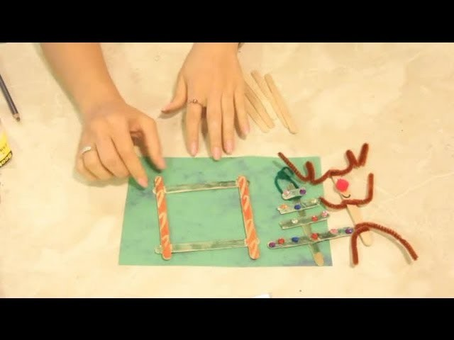 Christmas Things to Make With Popsicle Sticks : Christmas Crafts