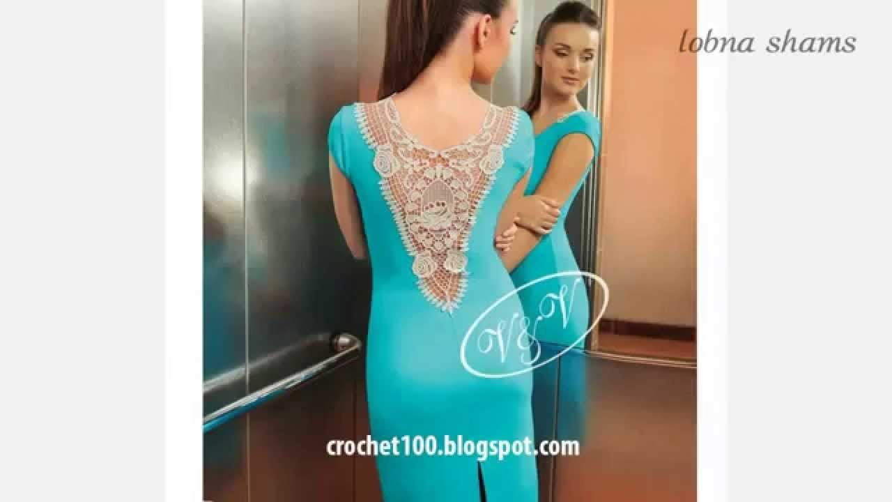 Crochet| 55 patterns of back of dress for sale