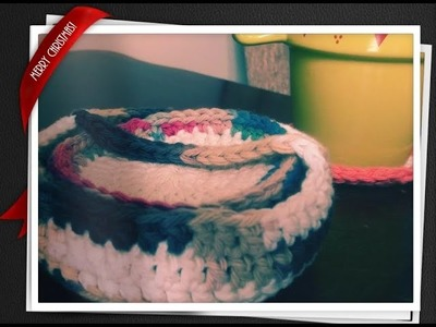 Crochet Coaster & Basket Set FREE Tutorial Part 2