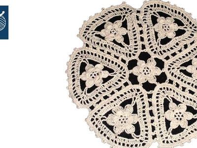 CROCHET LACE LATORRE - MOTIF Left Hand Crochet Geek