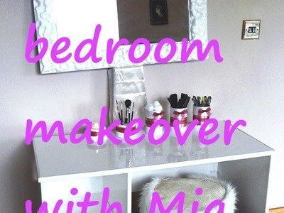 DIY bedroom makeover for a teenage girl