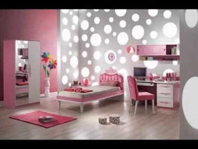 DIY black white and pink bedroom design decorating ideas