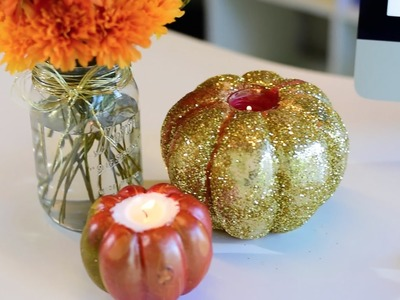 DIY Candles for Fall!