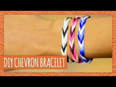 DIY Chevron Friendship Bracelet - HGTV Handmade