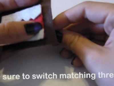 DIY: Domo KeyRing.Keychain (How to make cute domo keyring)
