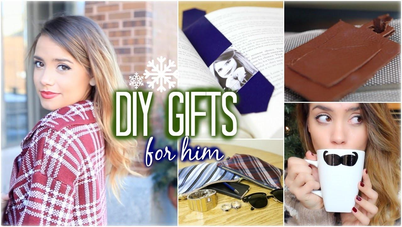 DIY Gift Ideas for HIM | Dad, Brother or Boyfriend!