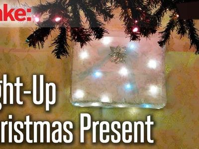 DIY Hacks & How To's: Light-Up Christmas Present