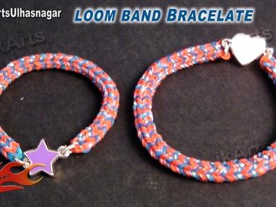 DIY Loom Band | Rubber band bracelet  Making- JK Arts  566