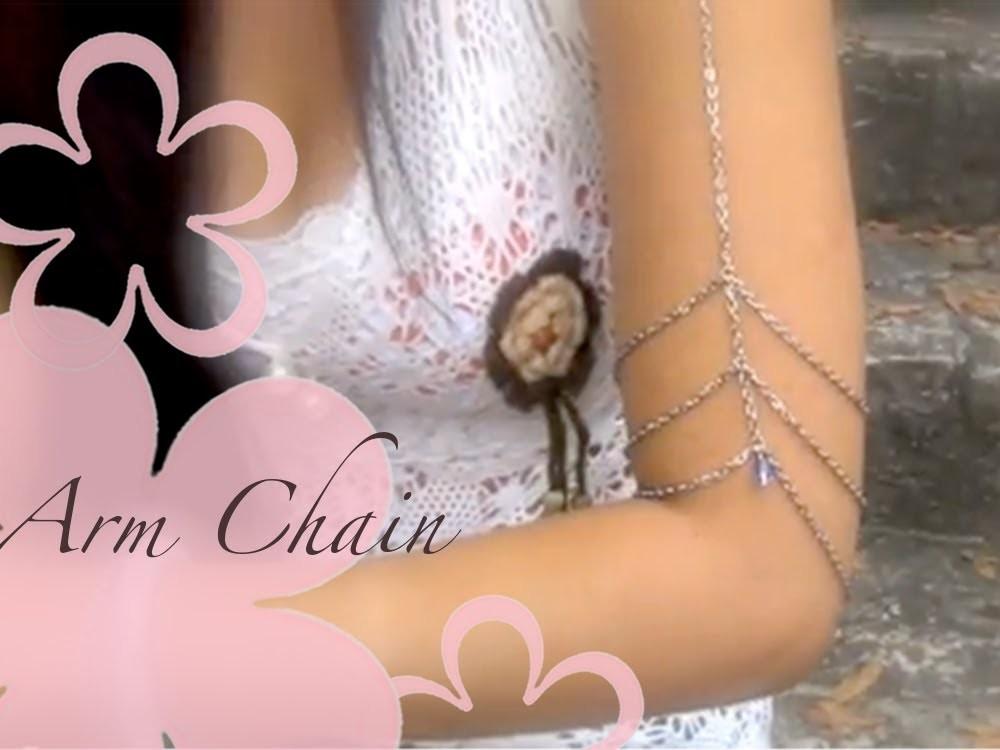 DIY: MeiIris' Arm Chain Jewelry