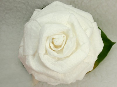 DIY Toilet Paper Rose Tutorial, DIY, How to make