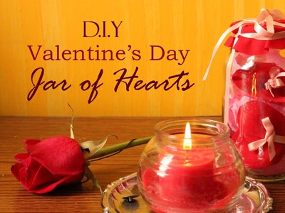DIY Valentine's Day Jar of Hearts Gift Wrapping Idea | Martinuzzi Accessories